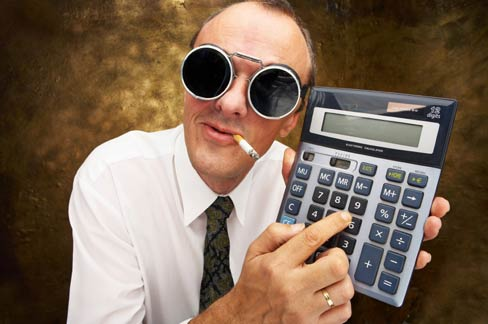 Picture of accountant