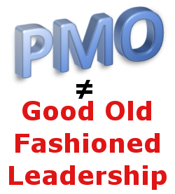 Image PMO not equal to Leadership