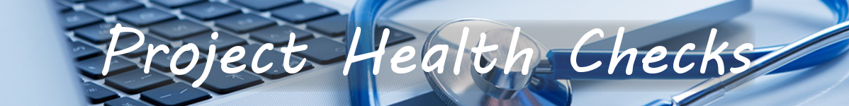 Project Health Check Banner